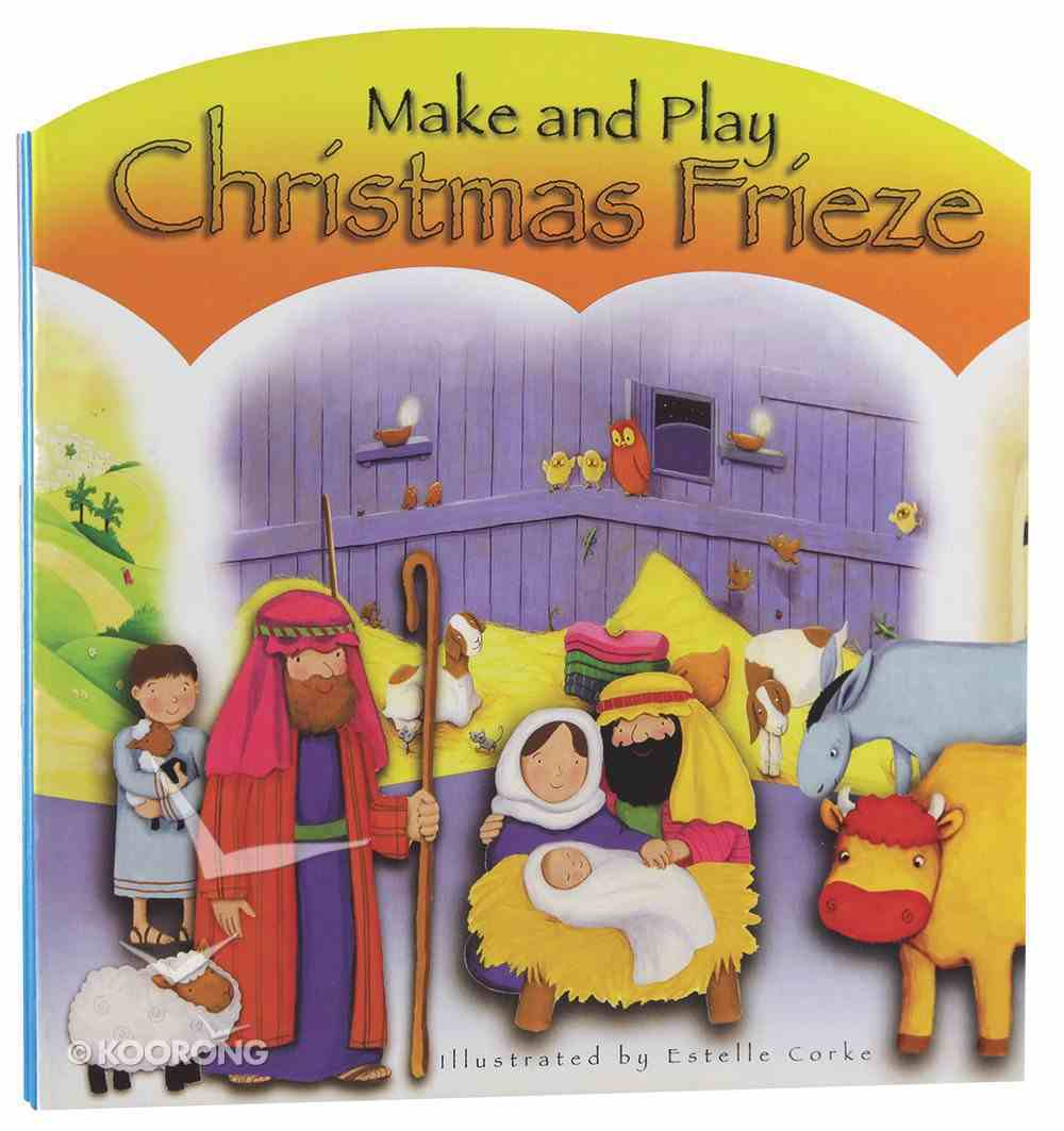 Make and Play Christmas Frieze Paperback
