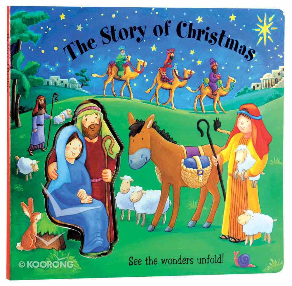 The Story of Christmas (Bible Build A Scene Series) Board Book