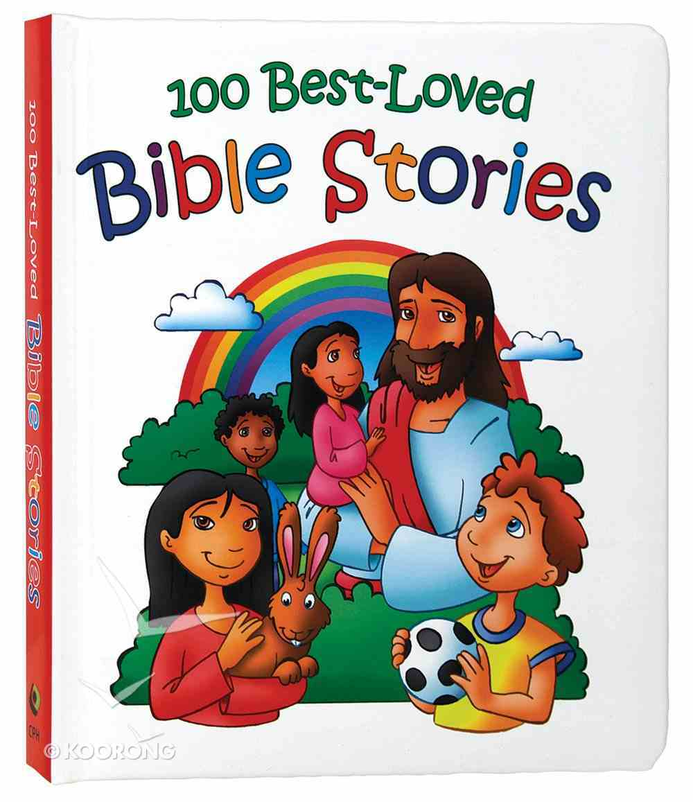100 Best-Loved Bible Stories Hardback