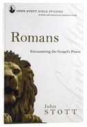Romans (John Stott Bible Studies Series) Paperback