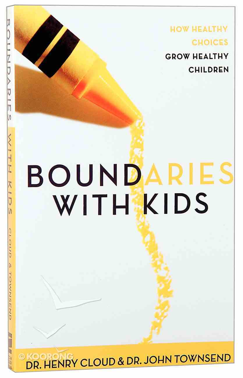 Boundaries With Kids Paperback