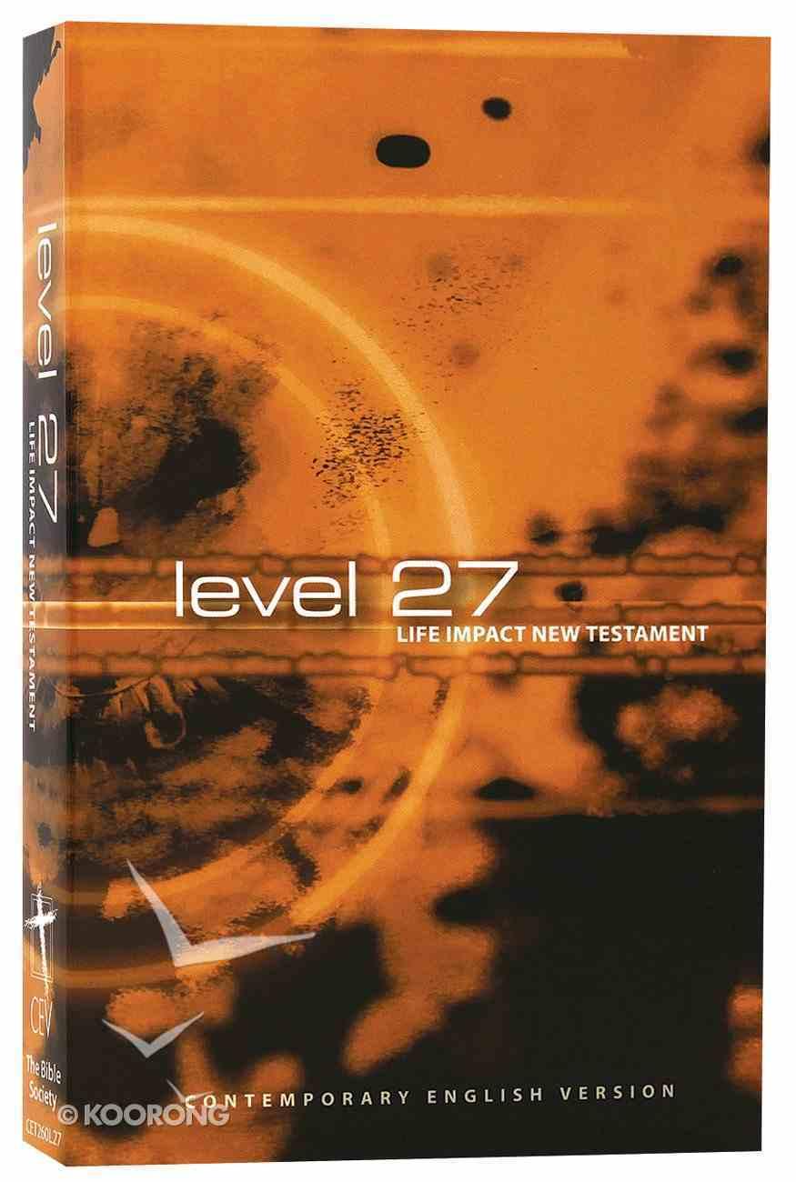 CEV Level 27 Youth New Testament (Black Letter Edition) Paperback