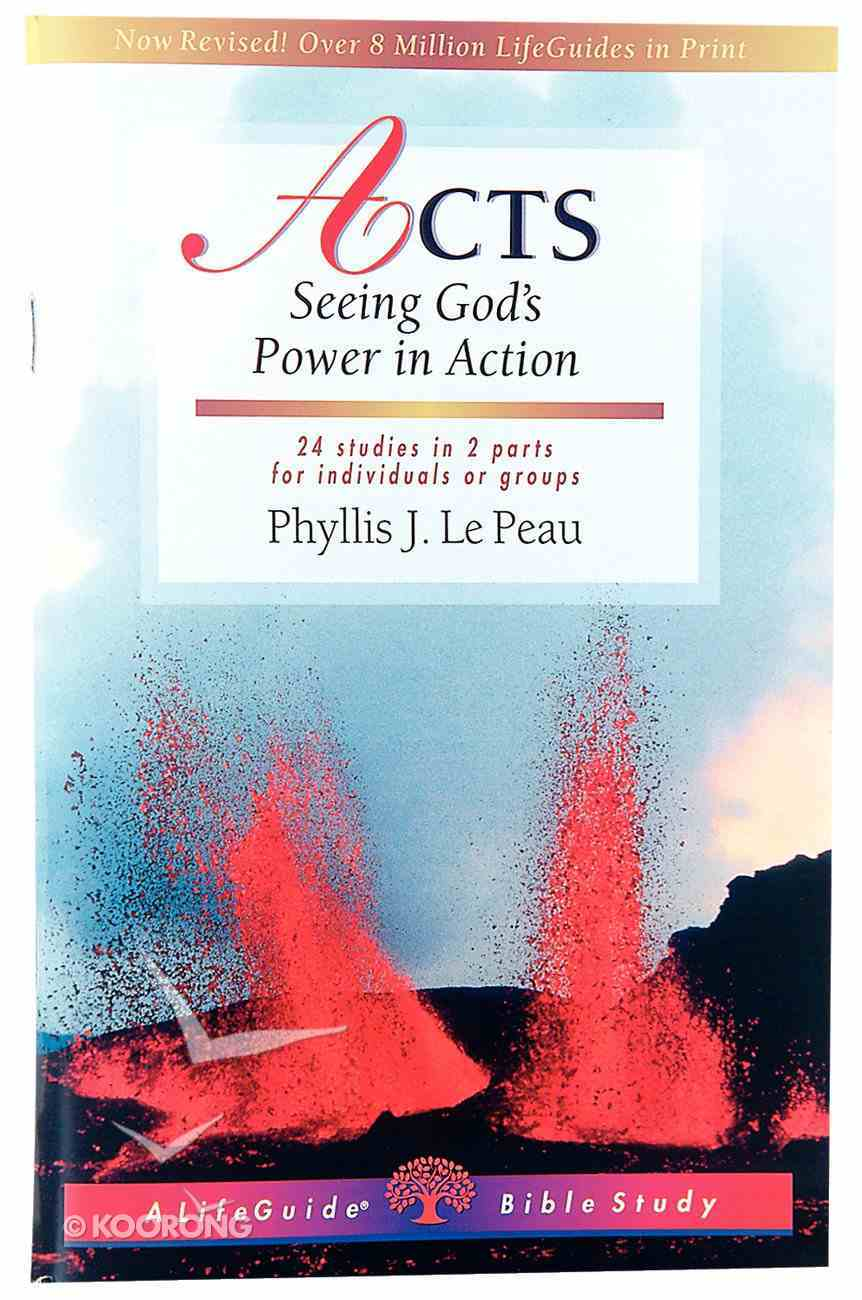 Acts (Lifeguide Bible Study Series) Paperback