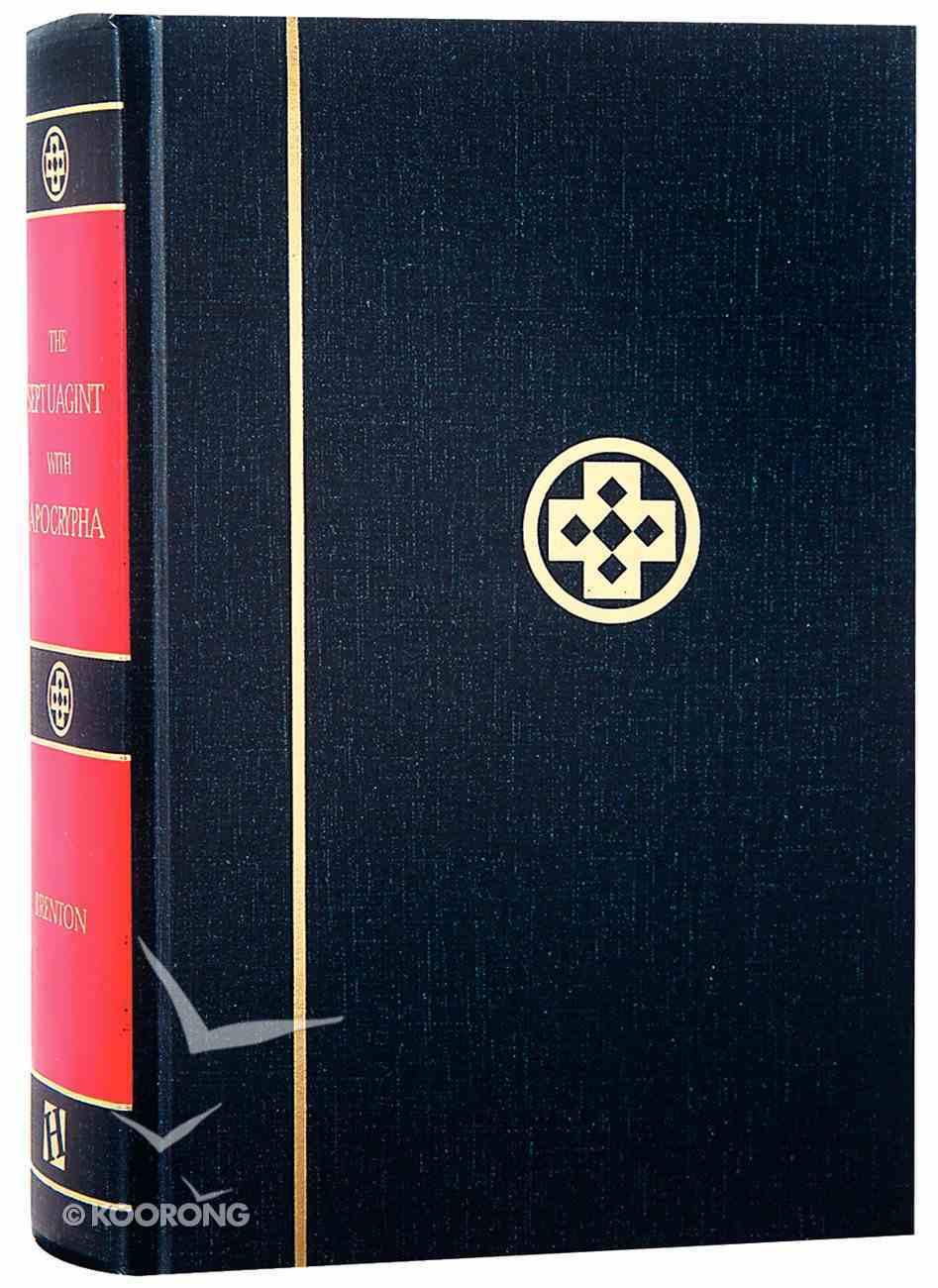 Greek-English Septuagint With Apocrypha Hardback