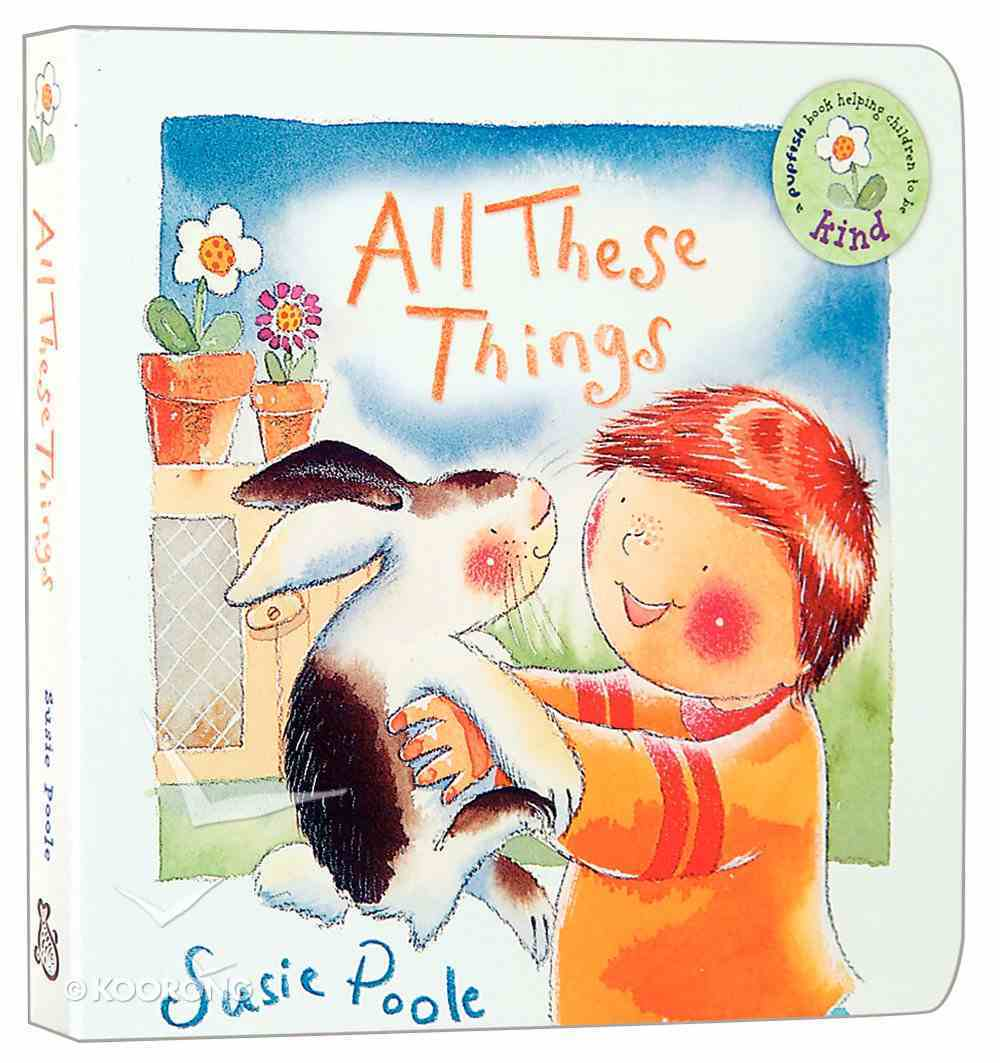 Pupfish: All These Things Board Book
