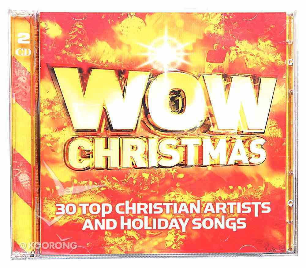 Wow Christmas Red Double CD