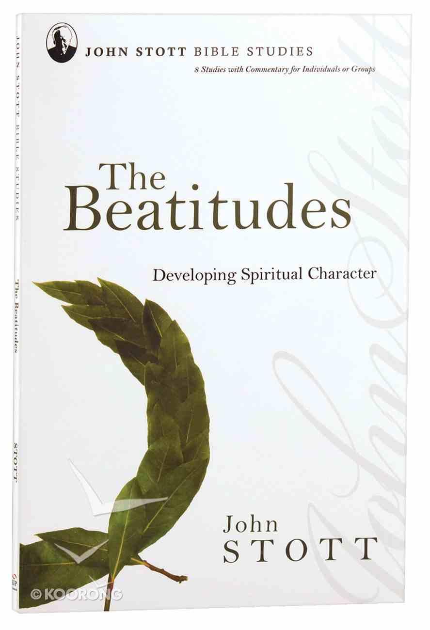 The Jsbs Beatitudes (John Stott Bible Studies Series) Paperback