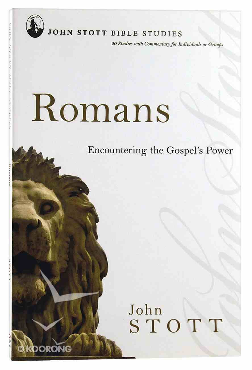 Jsbs Romans (John Stott Bible Studies Series) Paperback