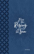 Journal: From The Rising Of The Sun, Blue/white image