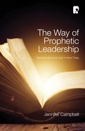 Way Of Prophetic Leadership, The image