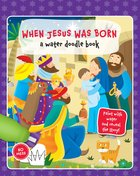 Water Doodle Book: When Jesus Was Born image