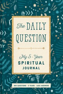 Product: Spiritual Journal: The Daily Question - My Five-year Spiritual Journal Image