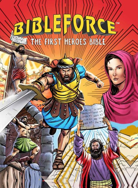 Product: Bibleforce: The First Heroes Bible (Comic Style) Image
