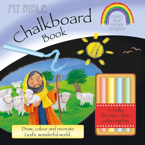 Product: My Bible Chalkboard Book: Stories From The New Testament (Incl. Chalk) Image