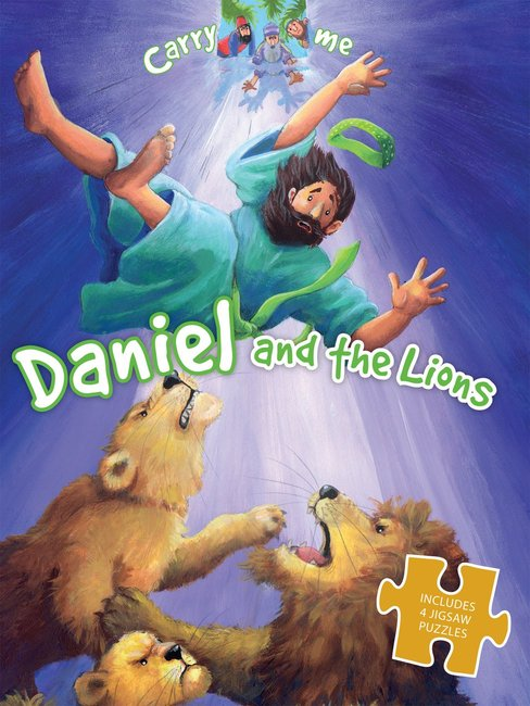 Product: Carry Me Puzzle Book: Daniel And The Lions Image