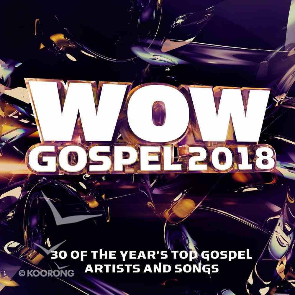 Wow Gospel 2018 Double CD CD