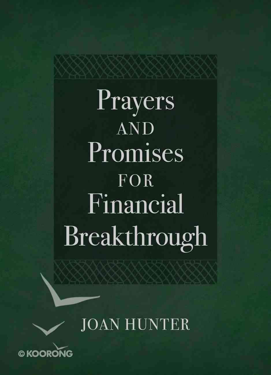 Prayers and Promises For Financial Breakthrough Imitation Leather