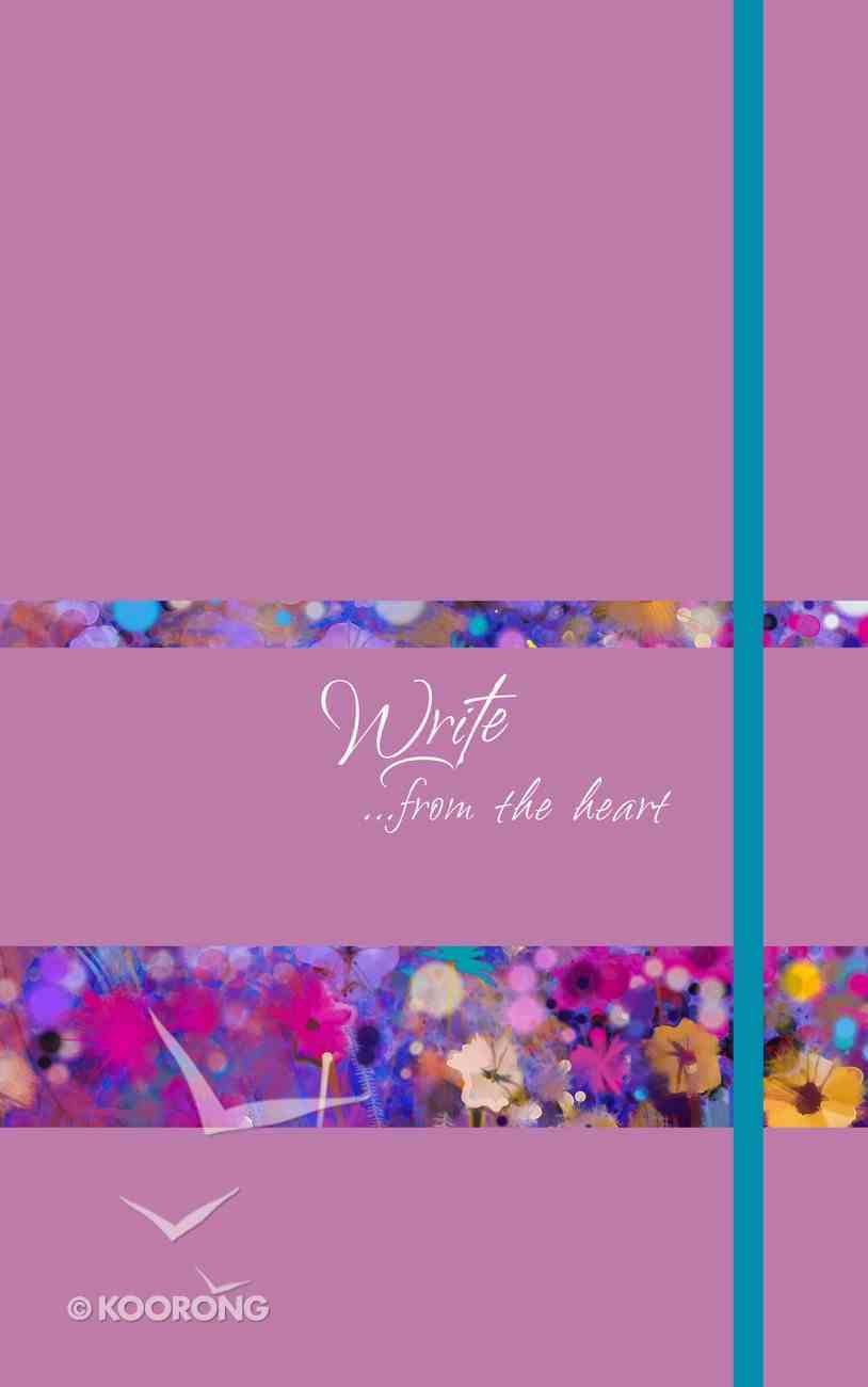 Journal: Write...From the Heart (Orchid) Imitation Leather