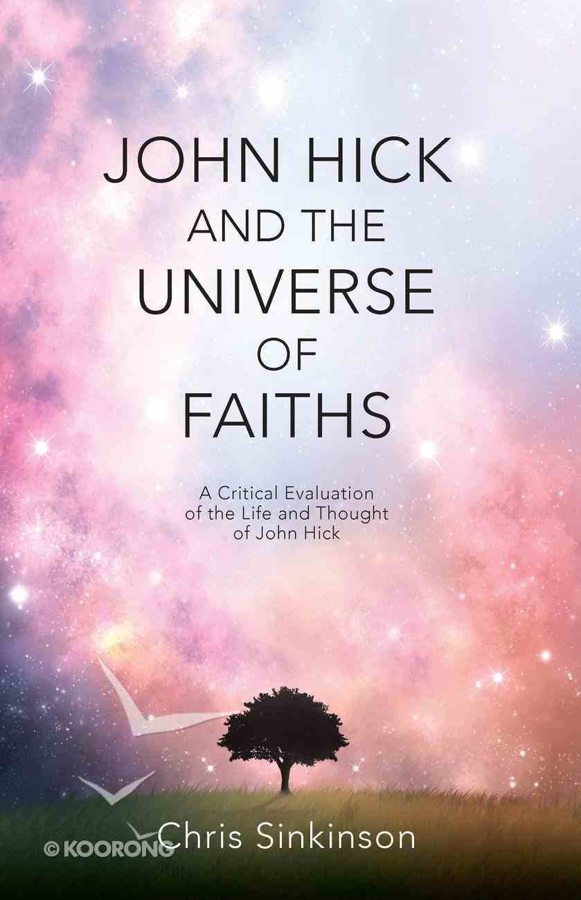 John Hick and the Universe of Faiths eBook