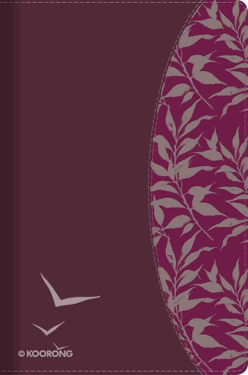 Rvr 1960 Biblia De Estudio Para Mujeres Tinto Smil Piel Con Ndice Imitation Leather