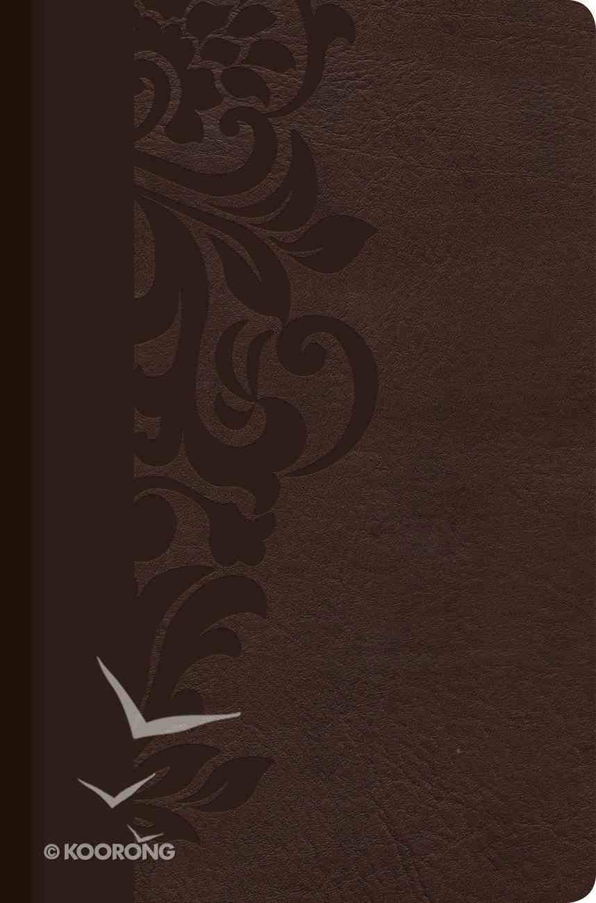 Rvr 1960 Biblia De Estudio Para Mujeres Cafe Simil Piel Con Indice (Spanish Study Bible For Women) Imitation Leather
