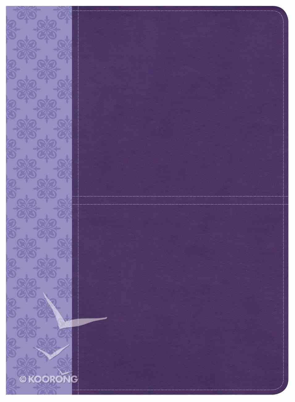 CSB Study Bible Purple Imitation Leather