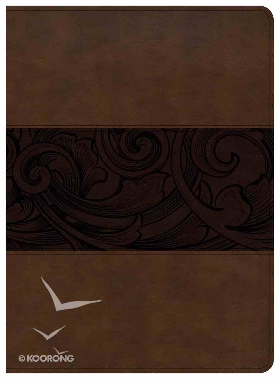 CSB Study Bible Mahogany Imitation Leather