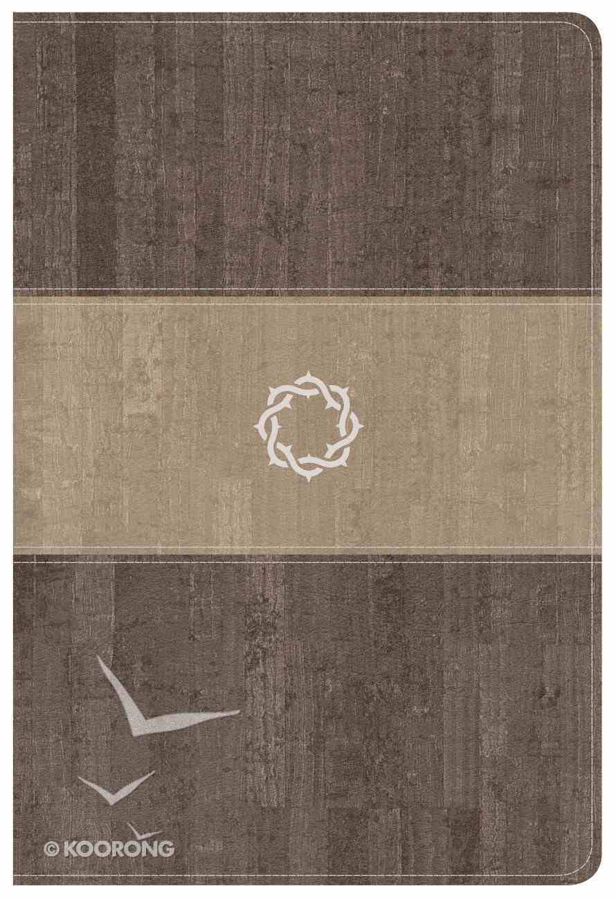 CSB Essential Teen Study Bible Weathered Gray Imitation Leather