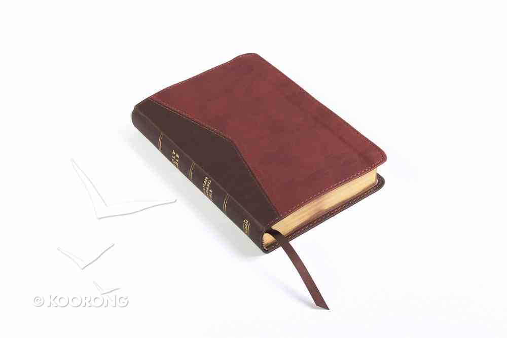 CSB Compact Ultrathin Bible For Teens Walnut Leathertouch Imitation Leather