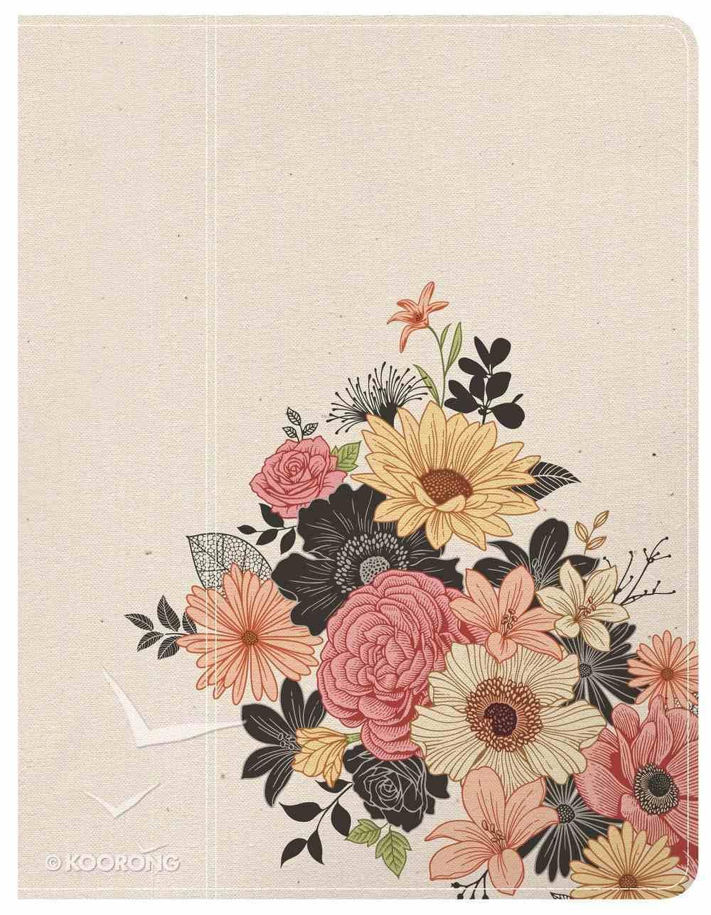 NKJV Illustrator's Notetaking Bible Floral Hardback