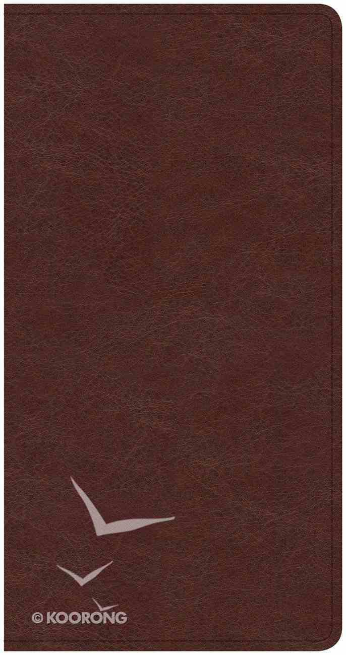 CSB Share Jesus Without Fear New Testament Brown Imitation Leather