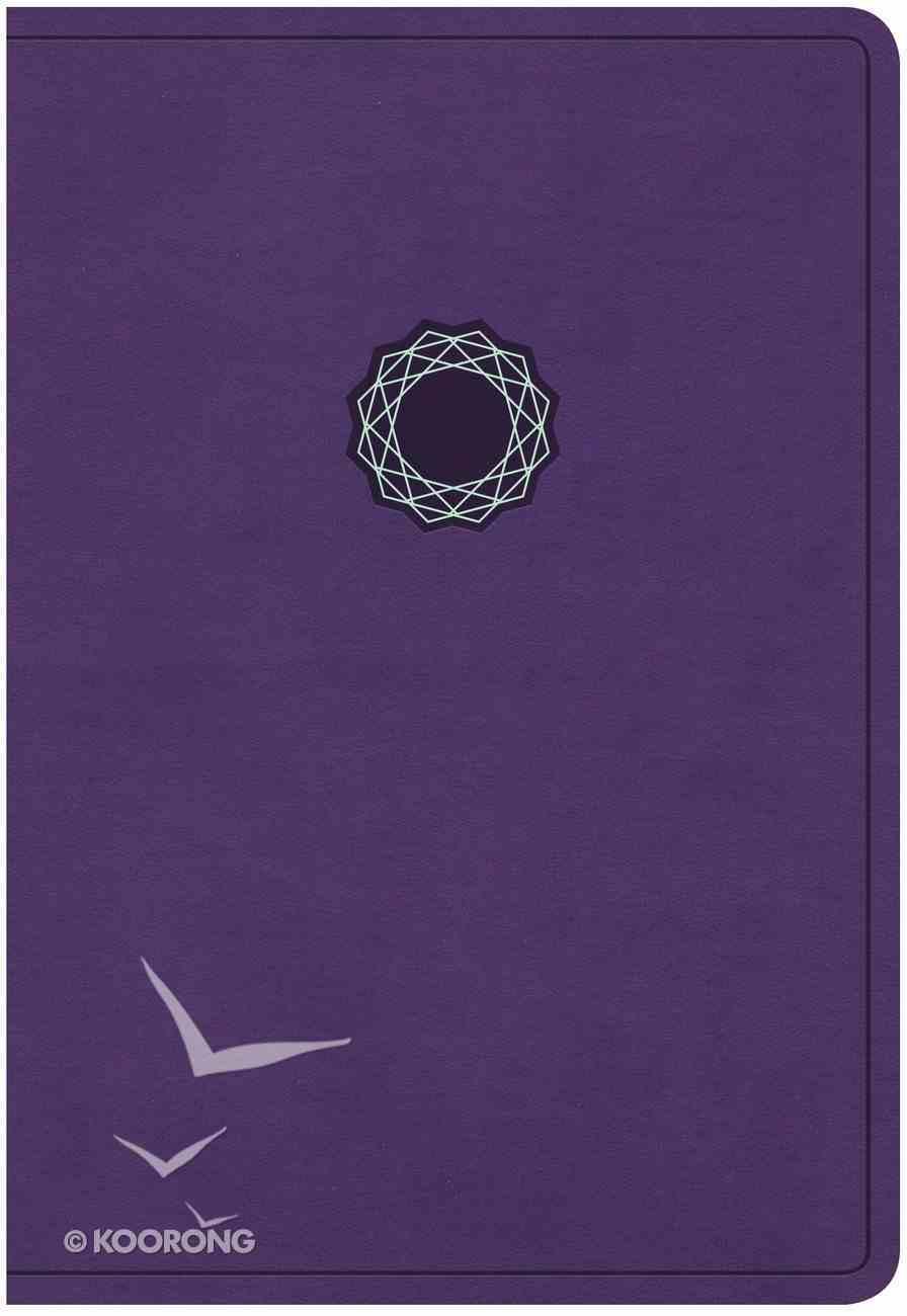 KJV Deluxe Gift Bible Purple Imitation Leather