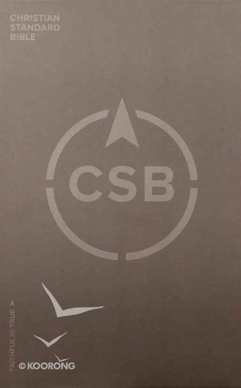CSB Ultrathin Reference Bible Black Leathertouch Imitation Leather