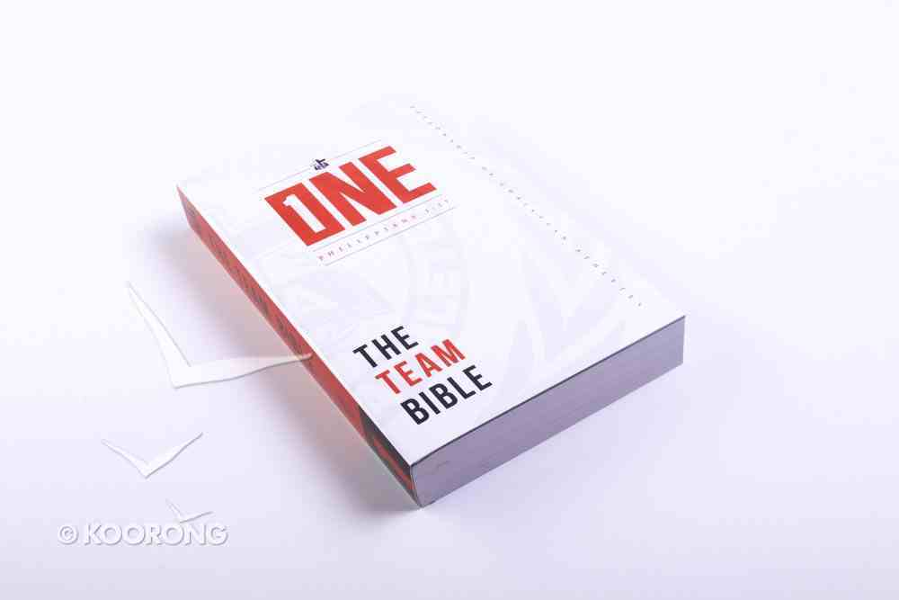 One: Team Bible, the Philippians 1:27 Paperback