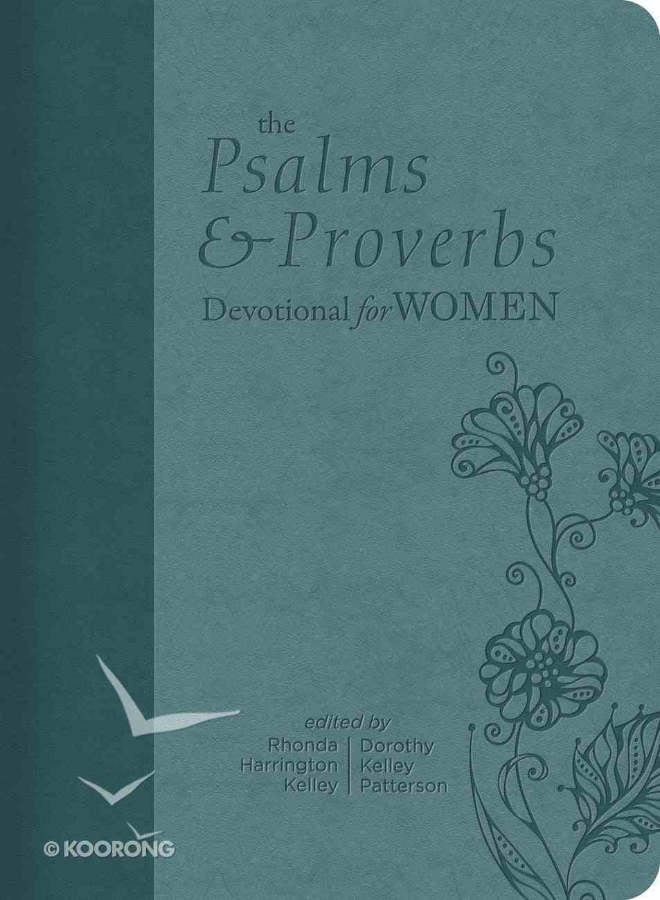 The Psalms and Proverbs Devotional For Women Imitation Leather