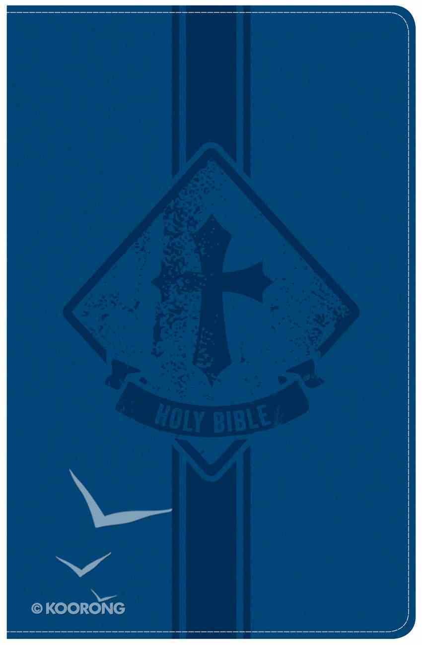 KJV Kids Bible Royal Blue Leathertouch Imitation Leather