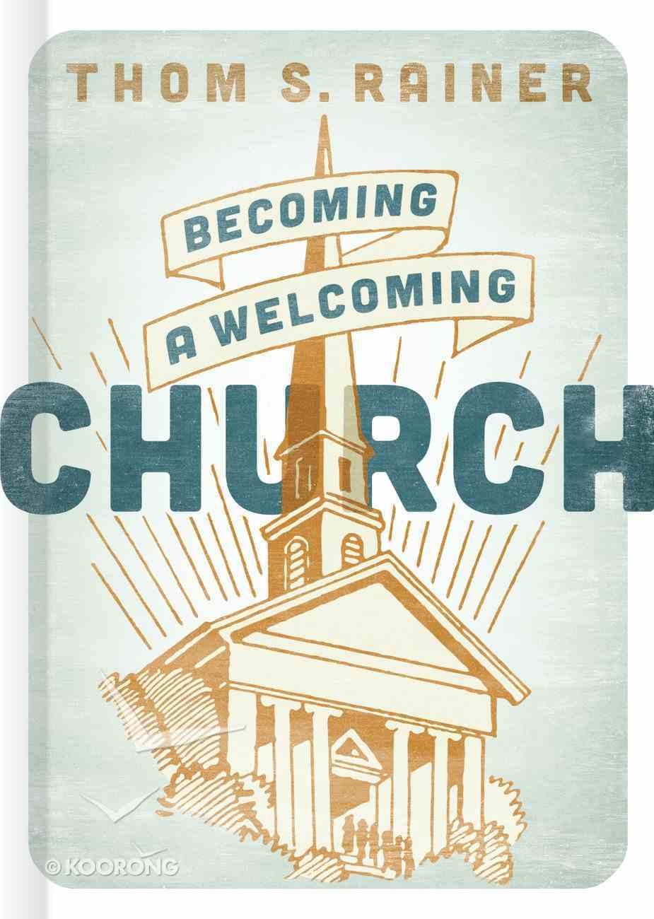 Becoming a Welcoming Church Hardback