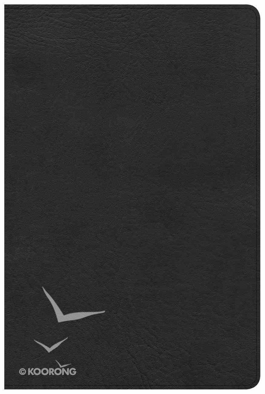 CSB Pastor's Bible Black Deluxe Black Letter Imitation Leather