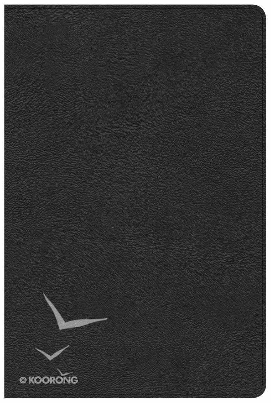CSB Pastor's Bible Black Black Letter Genuine Leather