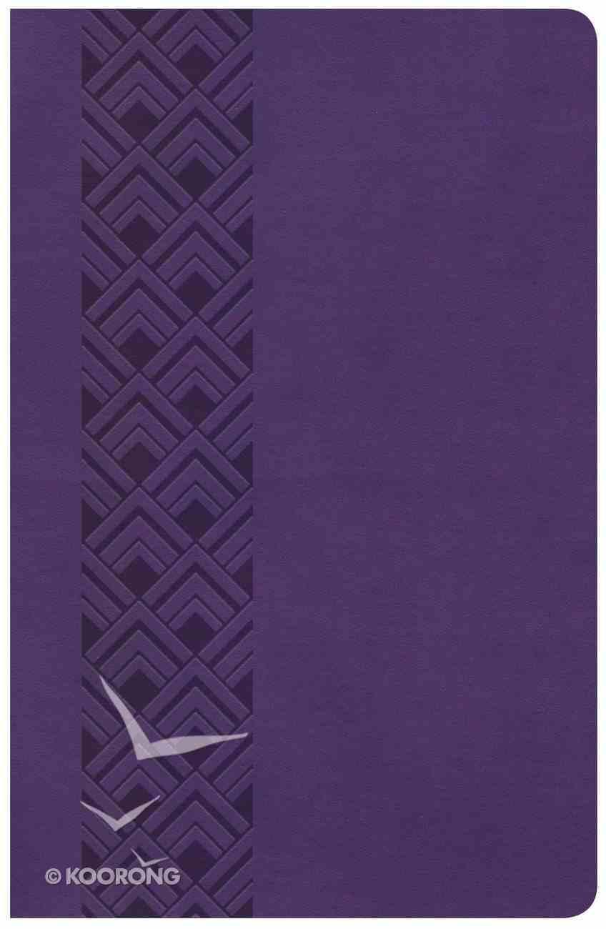 KJV Ultrathin Reference Bible Value Edition Purple Imitation Leather