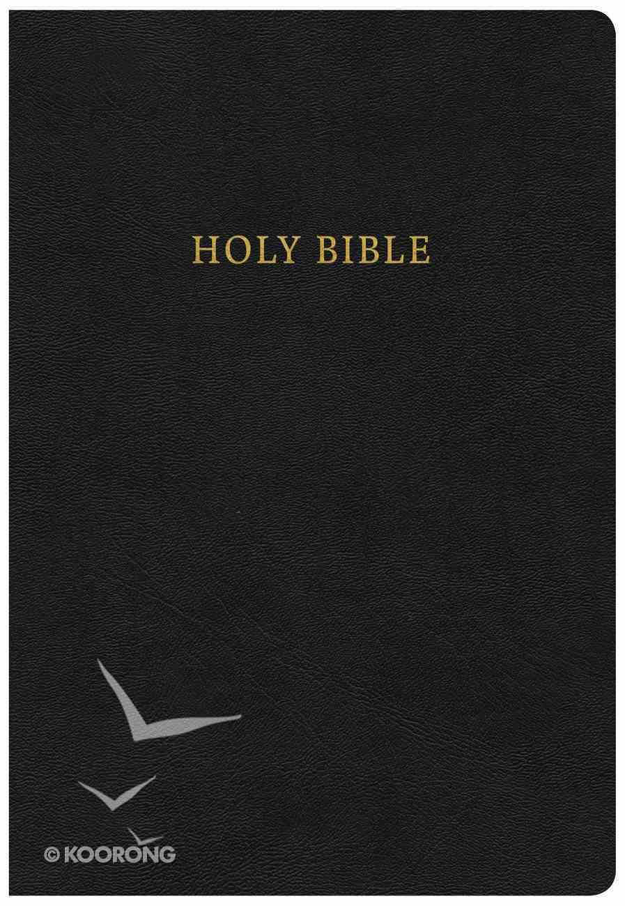 CSB Pulpit Bible Black Large Print Red Letter Edition Genuine Leather