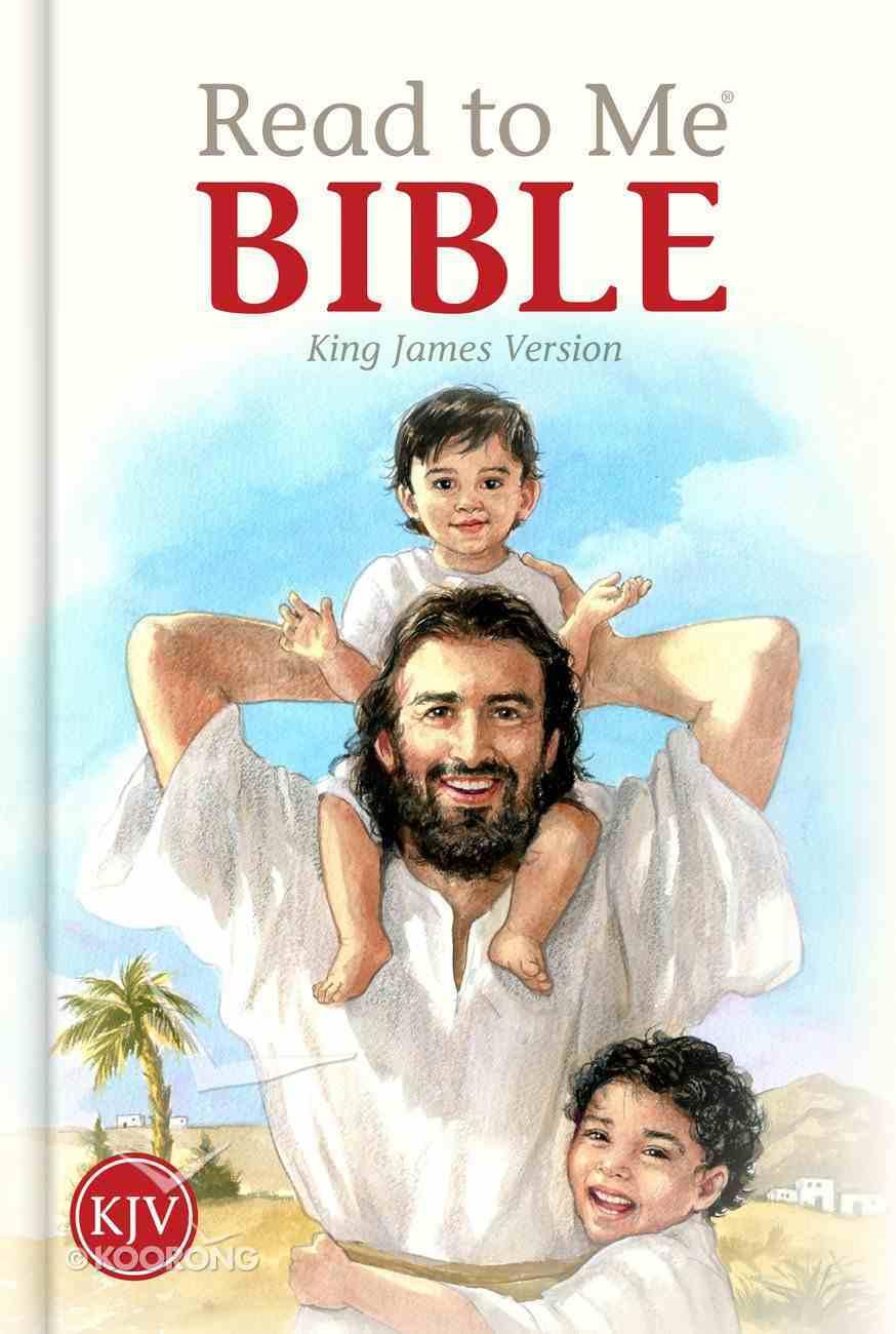 KJV Read to Me Bible Hardback