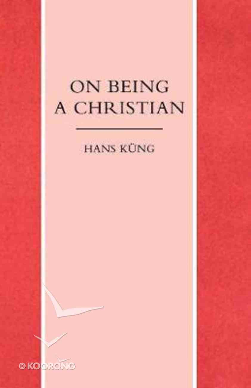 On Being a Christian Paperback