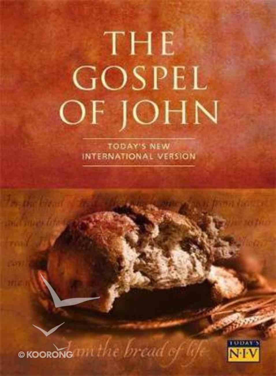 TNIV Gospel of John (20 Pack) Pack