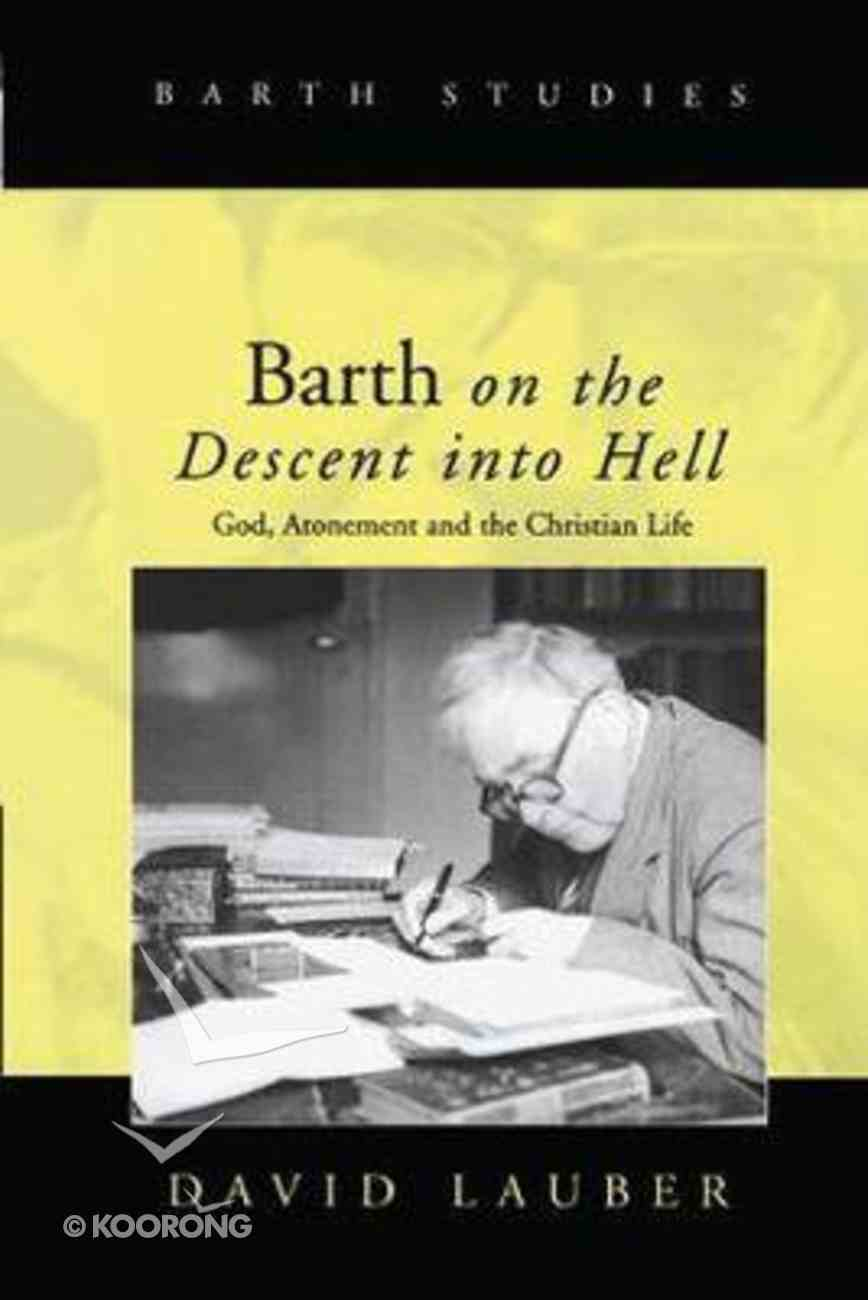 Barth on the Descent Into Hell Hardback