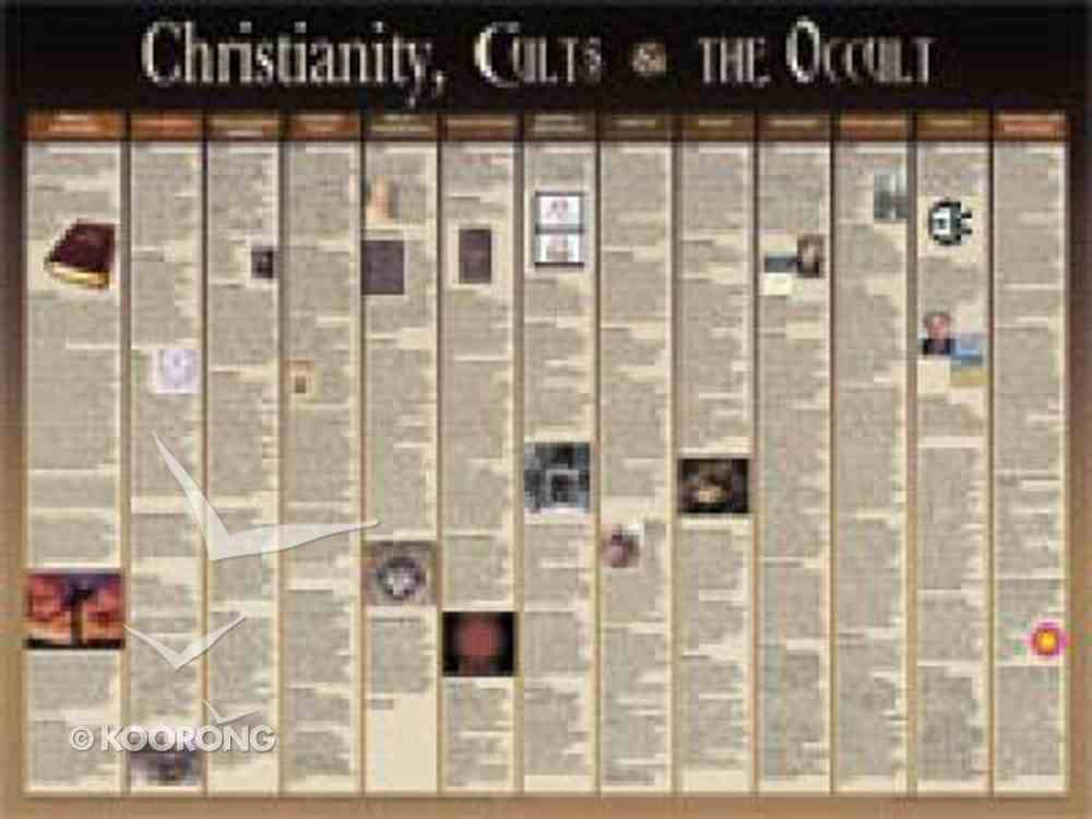 Wall Chart: Christianity, Cults & the Occult (Laminated) Chart/card
