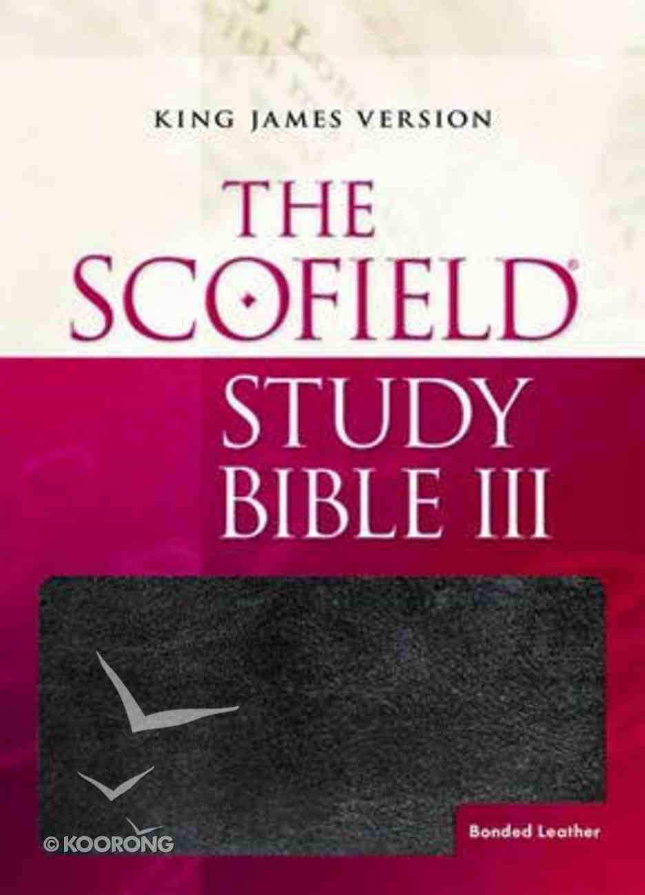 KJV Scofield Study Bible Thumb Indexed (Red Letter Edition) (Third Edition) Hardback