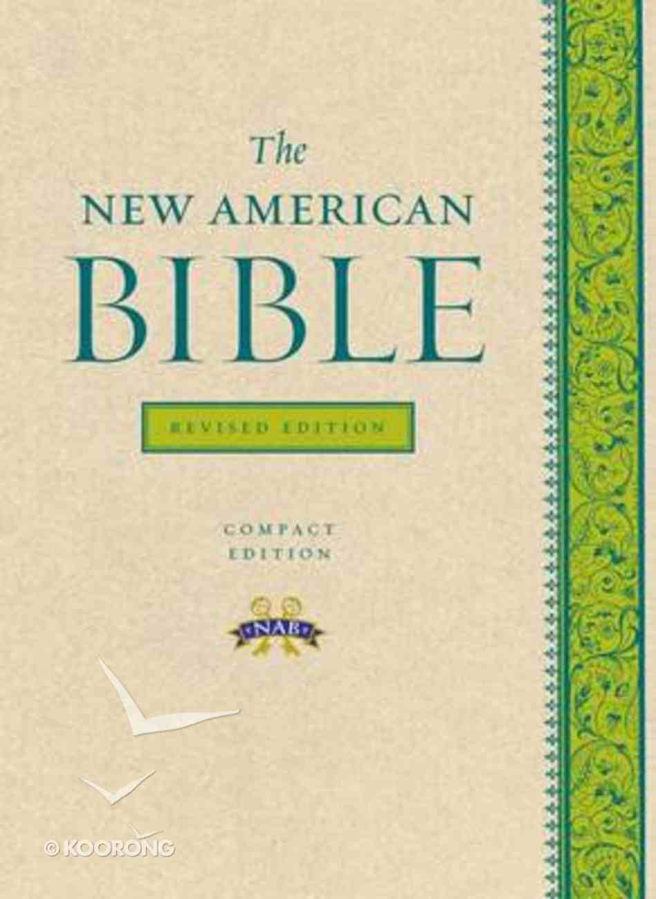 Nab New American Bible Revised Edition Paperback