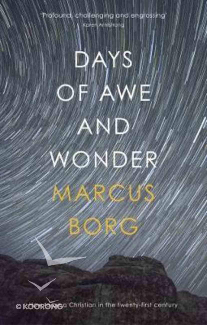 Days of Awe and Wonder Paperback