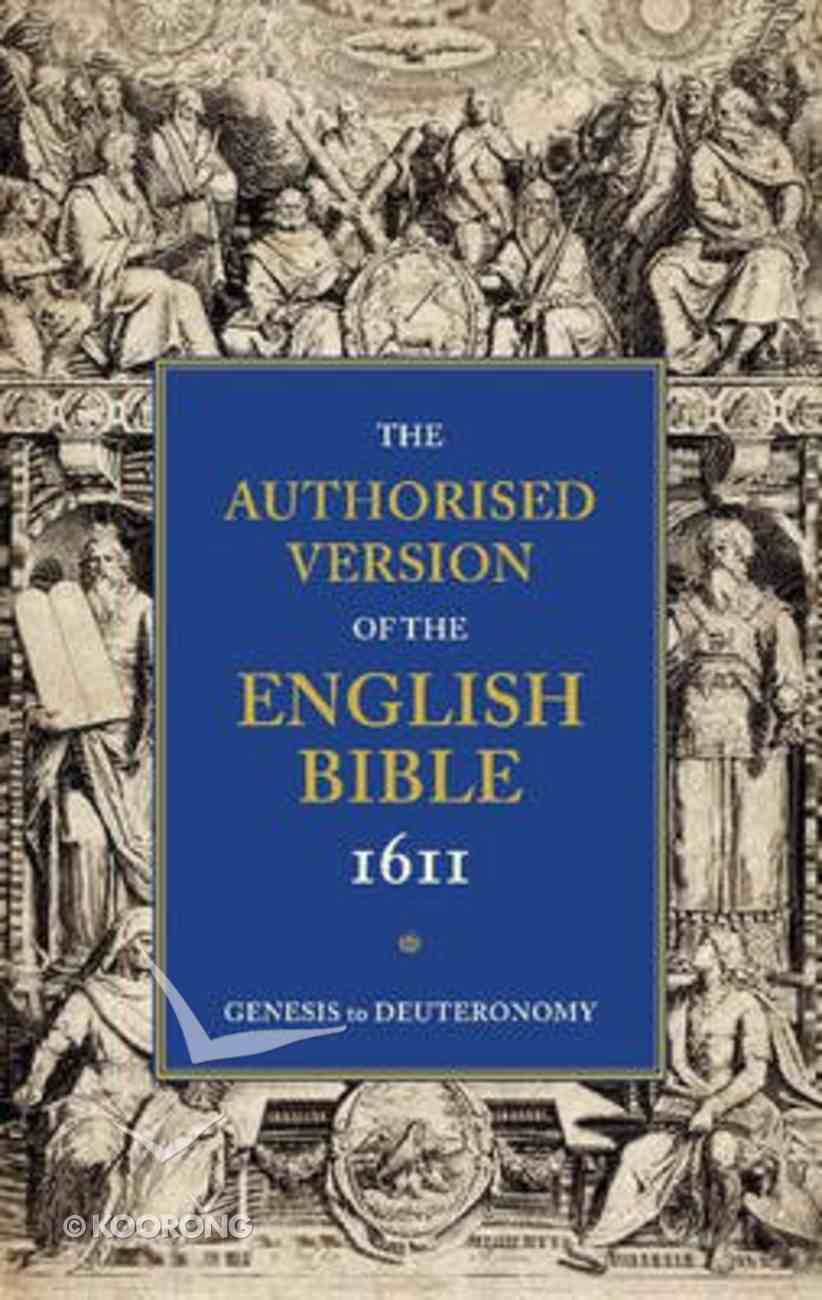 KJV Authorised Version of the English Bible 1611 5 Volume Set Paperback